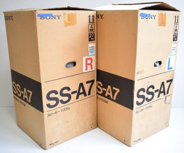 希少 ほぼ未使用 美品 SONY ソニー SS-A7 ペア スピーカー 直接引取可 元箱 La Voce バスレフ 音響 K-16_画像10