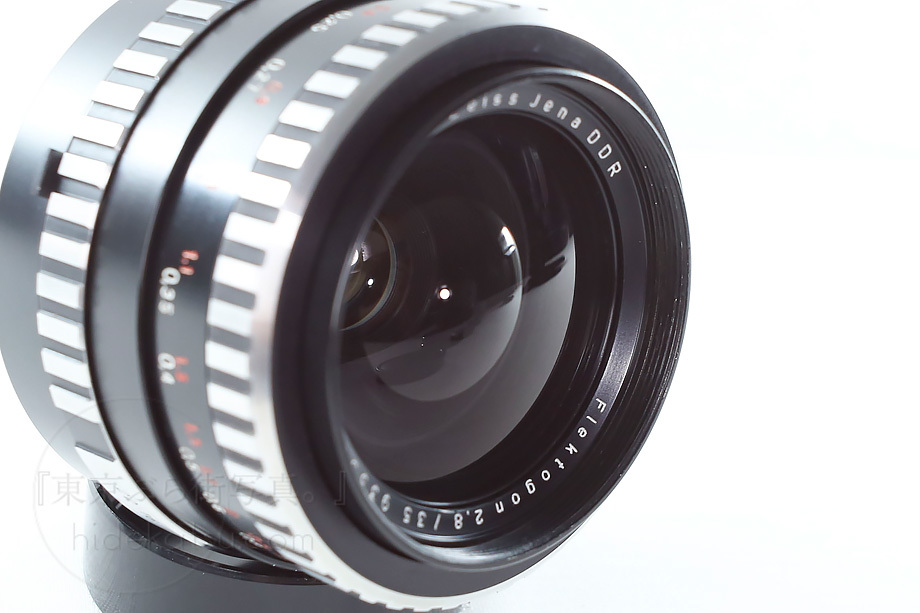 銘玉フレクトゴン 35mm ゼブラ【分解清掃済み・撮影チェック済み】Carl zeiss jena / Flektogon F2.8 35mm M42_69f_画像5