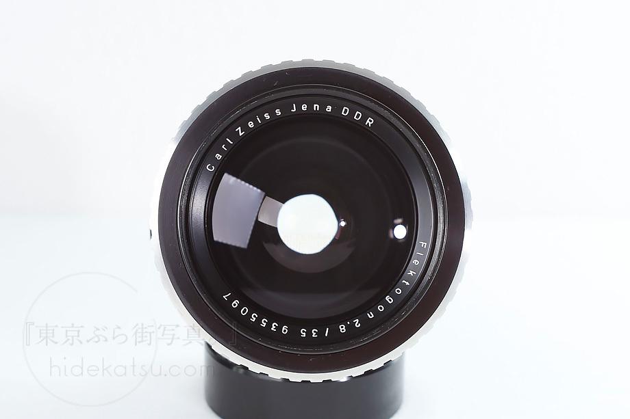 銘玉フレクトゴン 35mm ゼブラ【分解清掃済み・撮影チェック済み】Carl zeiss jena / Flektogon F2.8 35mm M42_69f_画像3