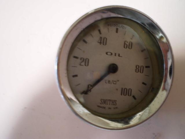 希少品 旧ミニ ローバーミニ MINI 初期物 スミス 油圧計メーター オイルプレッシャー