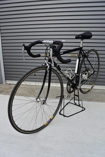 稀少!ヴィンテージ GIANT(ジャイアント)RX500 旧ロゴ クロモリ!タイヤ・バーテープ新品交換済 サンツアー ホリゾンタル 旧車 _画像2