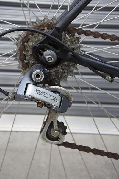 稀少!ヴィンテージ GIANT(ジャイアント)RX500 旧ロゴ クロモリ!タイヤ・バーテープ新品交換済 サンツアー ホリゾンタル 旧車 _画像5