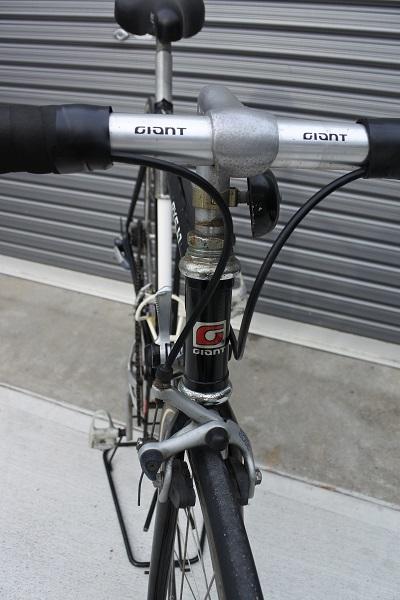 稀少!ヴィンテージ GIANT(ジャイアント)RX500 旧ロゴ クロモリ!タイヤ・バーテープ新品交換済 サンツアー ホリゾンタル 旧車 _画像9