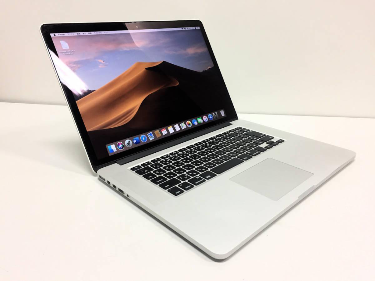 美品◆MacBook Pro Retina A1398◆I7 4770HQ 2.2GHZ◆Mid 2015◆16GB◆SSD 1TB _画像2