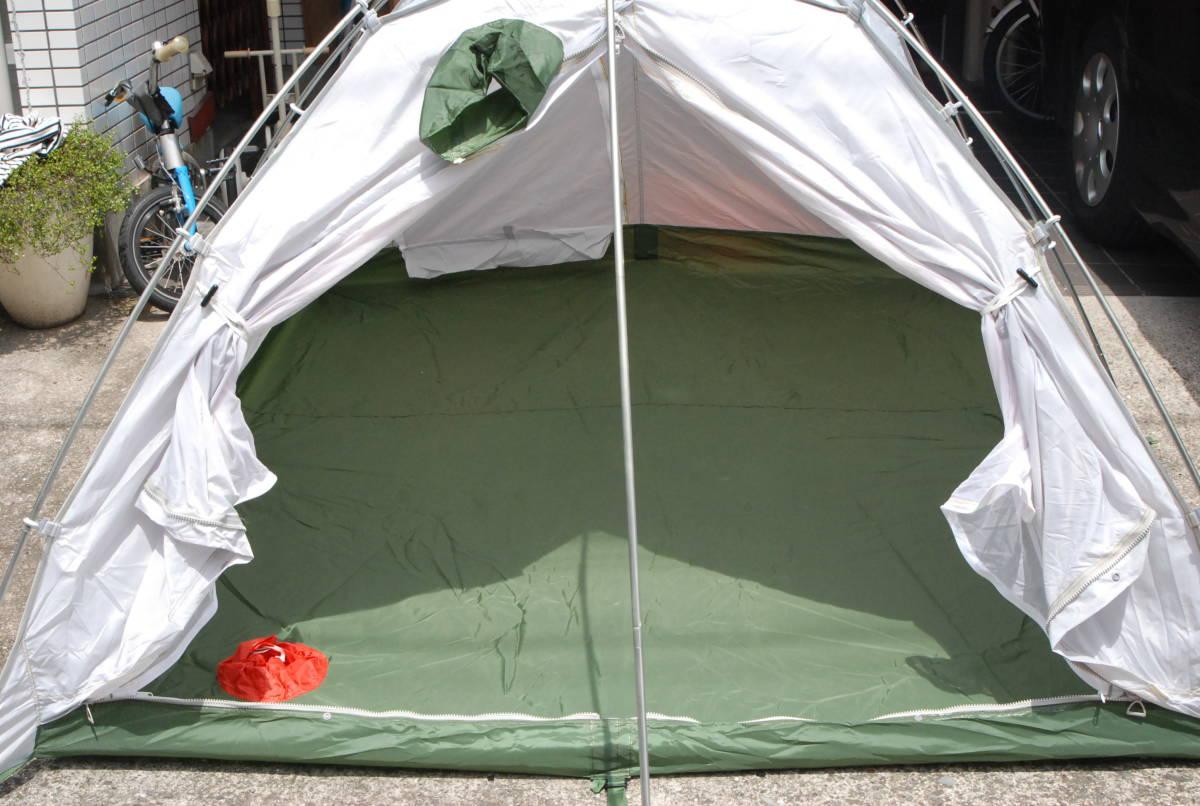 ダンロップテント DUNLOP 山岳 登山用テント3~4人用 V400+V400S 冬用外張り 4シーズン使用可 当時物カタログ付き V-400+V-400S_画像8