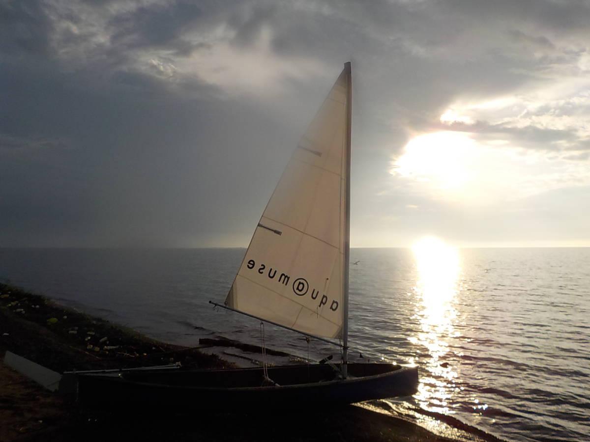 aquamuse141 アクアミューズ セーリングディンギー 程度良ワンオーナー ヨット、カヌーに