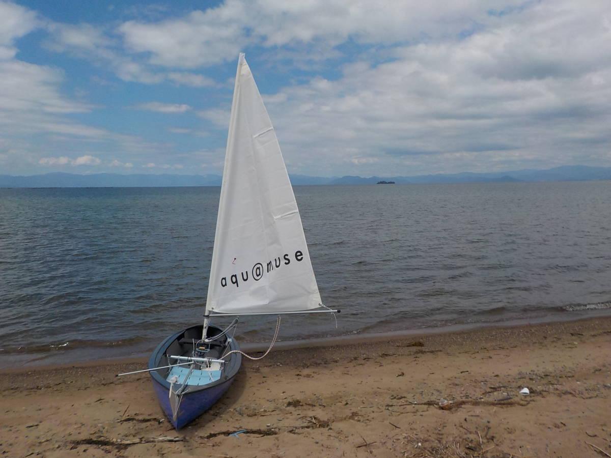 aquamuse141 アクアミューズ セーリングディンギー 程度良ワンオーナー ヨット、カヌーに_画像2