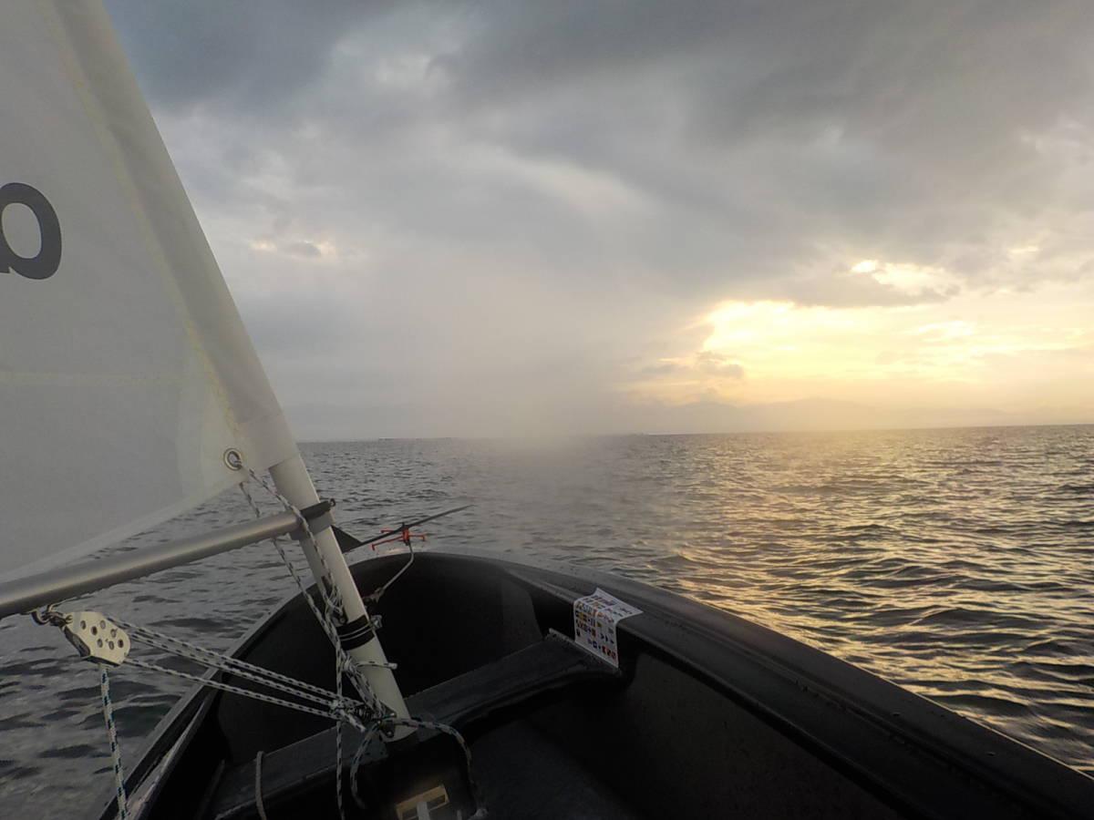 aquamuse141 アクアミューズ セーリングディンギー 程度良ワンオーナー ヨット、カヌーに_画像4