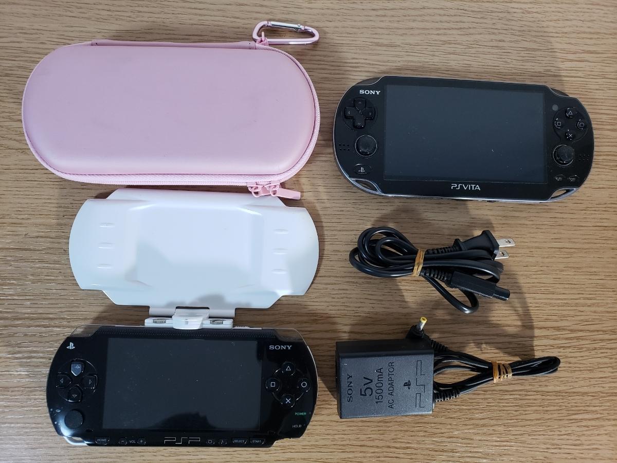PSVITA.PSP本体3台+ソフト64枚セット/テイルズオブヒーローズ/スーパーロボット大戦/みっこくパーティー/ナムコミュージアム/ガンダム/FF _画像7