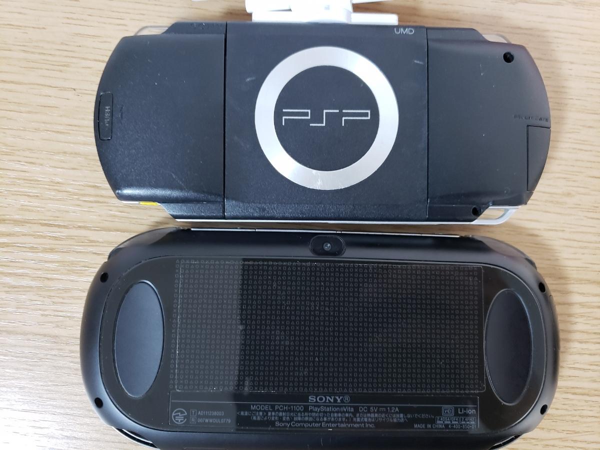 PSVITA.PSP本体3台+ソフト64枚セット/テイルズオブヒーローズ/スーパーロボット大戦/みっこくパーティー/ナムコミュージアム/ガンダム/FF _画像8