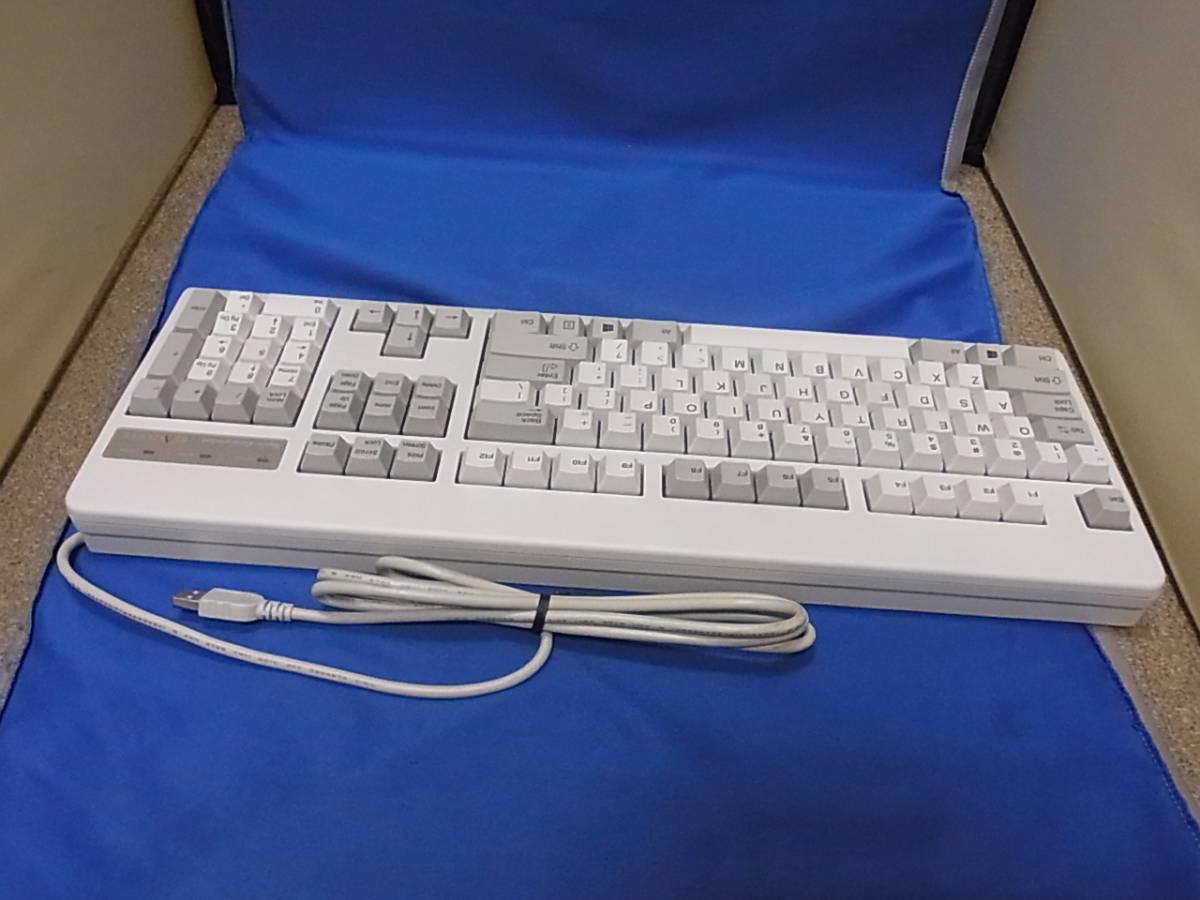 東プレ REALFORCE 104UWS ホワイト XF01TS 展示処分品 _画像2