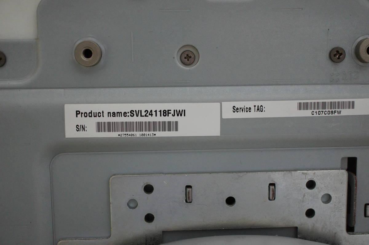 ソニー VAIO L SVL24118FJWI Core i7 4GB 1TB すぐツクTV 3波地デジ Wチューナー ブルーレイ Windows10 リカバリー領域あり 1円スタート_画像7