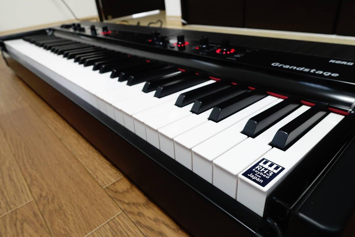 ★美品★KORG Grandstage 73★コルグ ステージピアノ シンセサイザー 73鍵モデル★_画像3