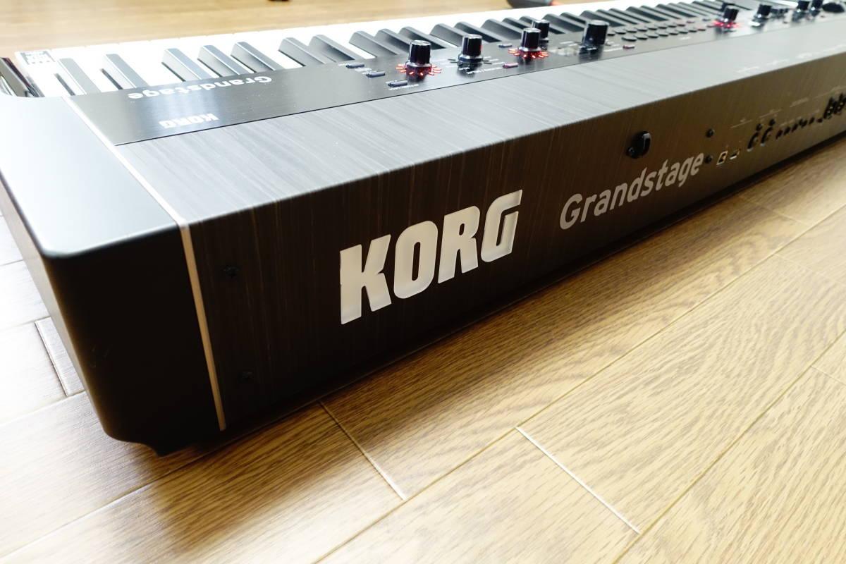 ★美品★KORG Grandstage 73★コルグ ステージピアノ シンセサイザー 73鍵モデル★_画像7