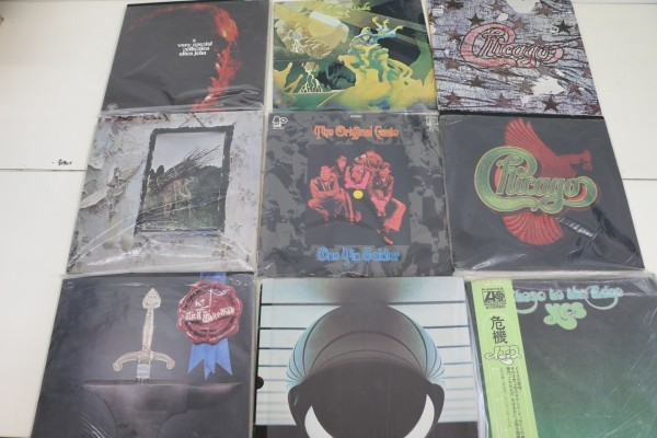 洋楽 LPレコード まとめ 79枚 レッド・ツェッペリン/ボブ・ディラン他 (2888)_画像7