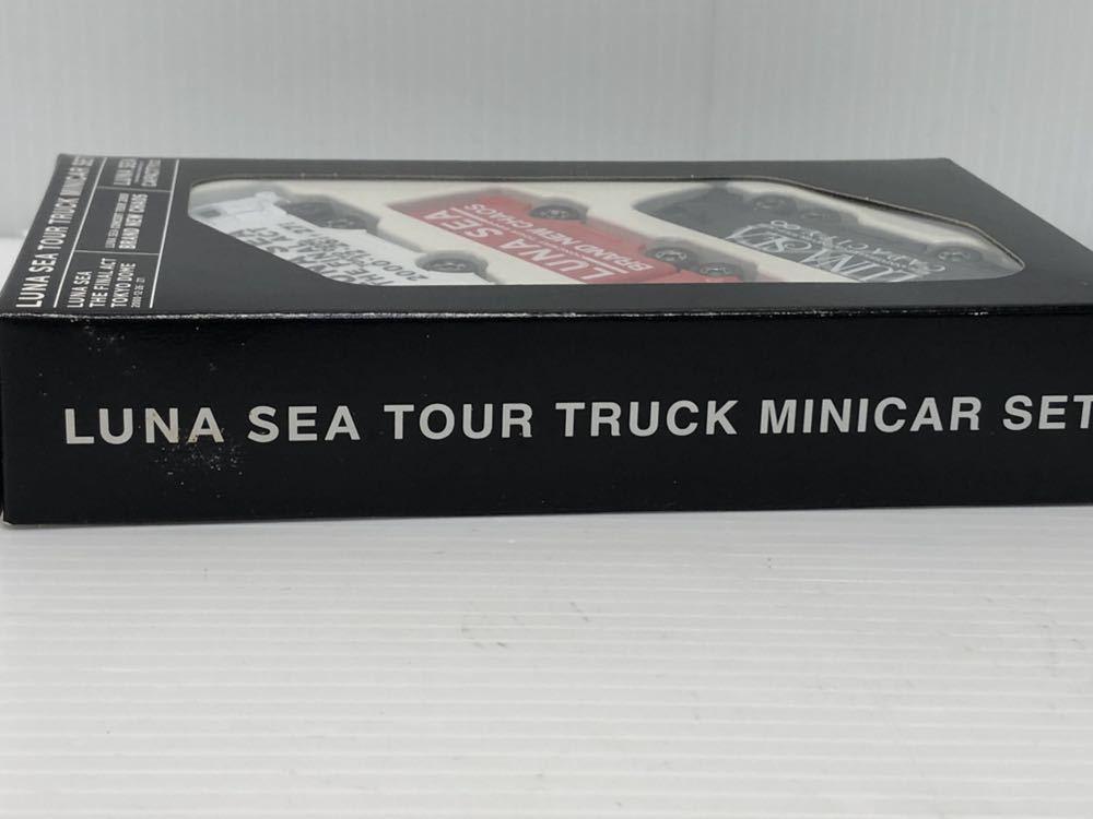 未開封 トミカ LUNA SEA ルナシー ミニカーセット TOKYO DOME 2000 ツアートラック 送料無料_画像5