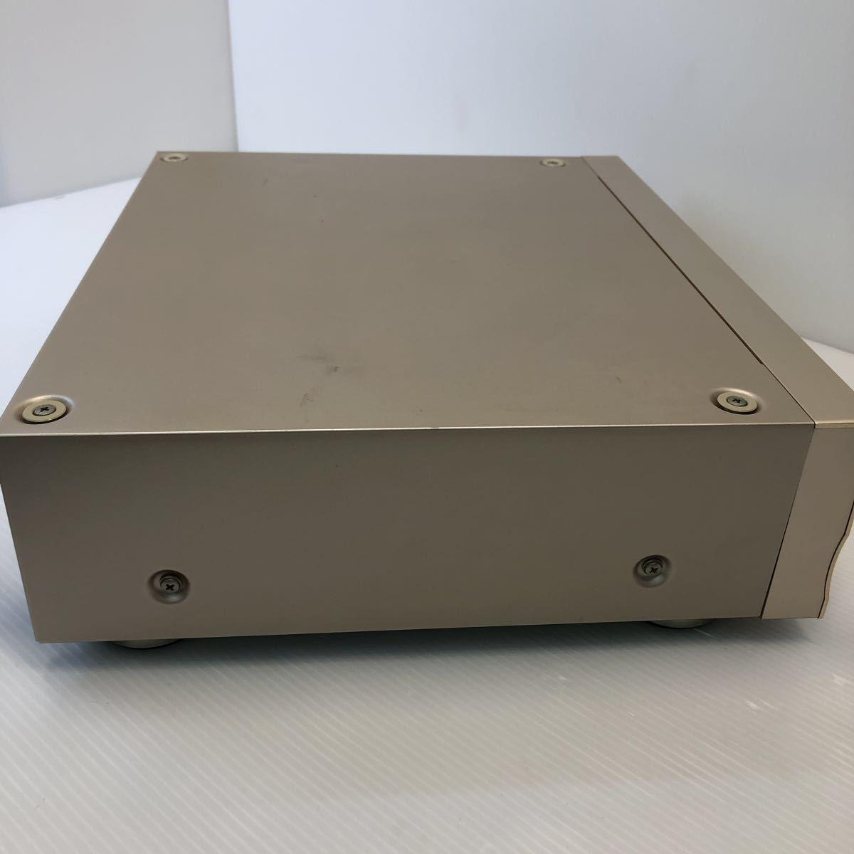 Pioneer パイオニア CDプレーヤー DACモード搭載 通電 CDトレイオープンクローズのみ確認 ジャンク扱い リモコン付き 1円スタート_画像9