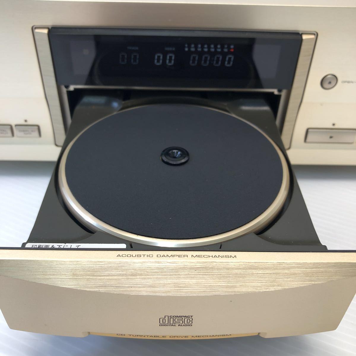 Pioneer パイオニア CDプレーヤー DACモード搭載 通電 CDトレイオープンクローズのみ確認 ジャンク扱い リモコン付き 1円スタート_画像5