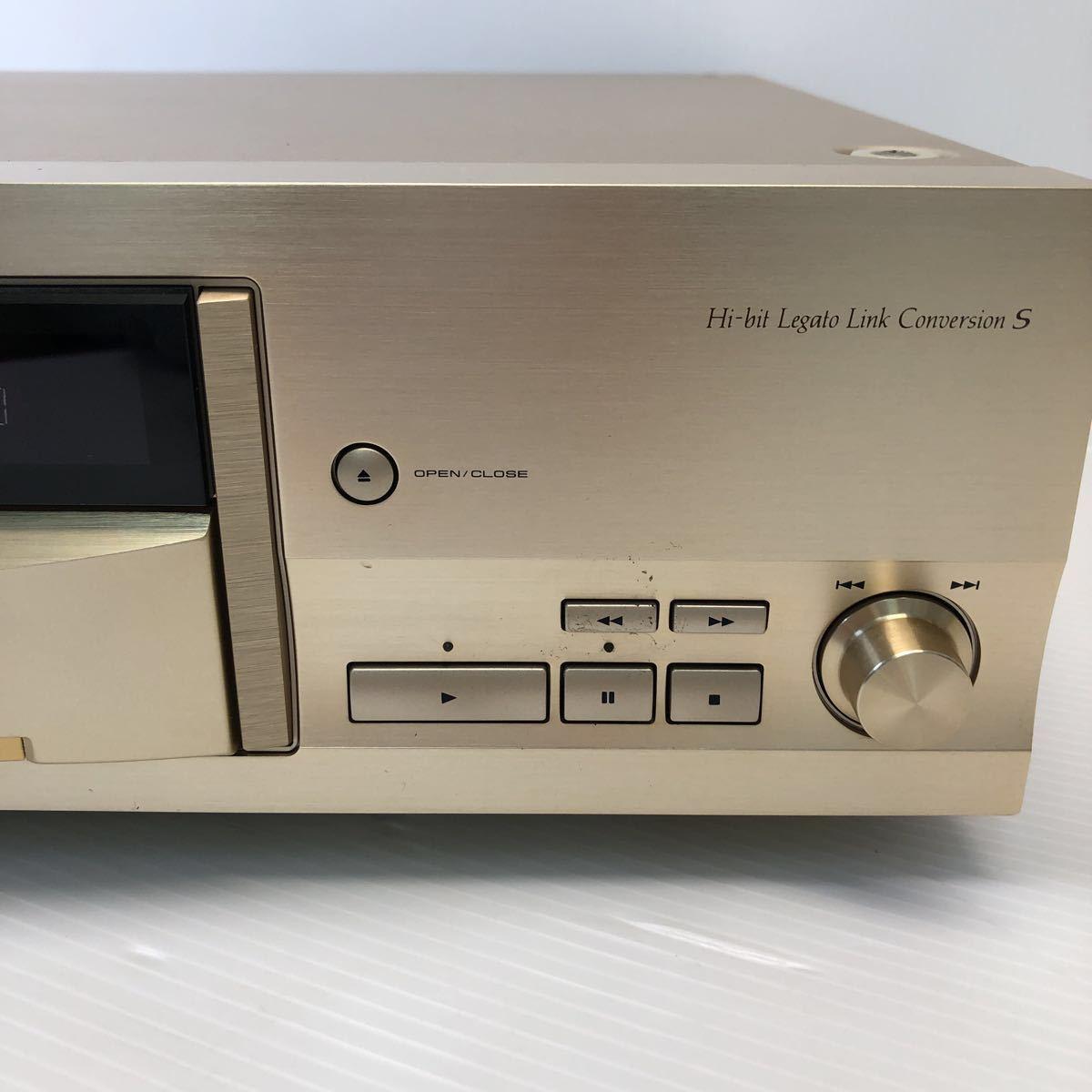 Pioneer パイオニア CDプレーヤー DACモード搭載 通電 CDトレイオープンクローズのみ確認 ジャンク扱い リモコン付き 1円スタート_画像4