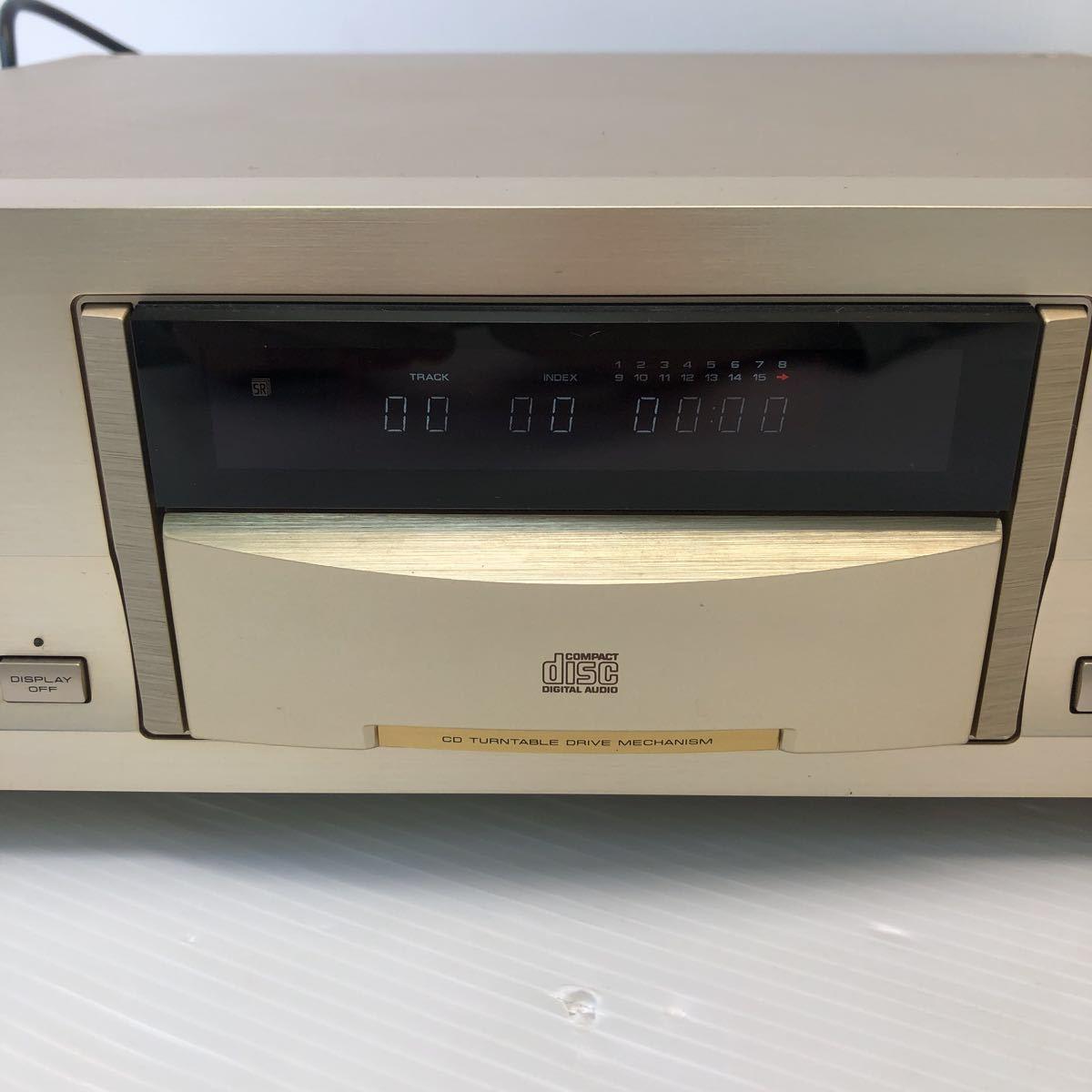 Pioneer パイオニア CDプレーヤー DACモード搭載 通電 CDトレイオープンクローズのみ確認 ジャンク扱い リモコン付き 1円スタート_画像2