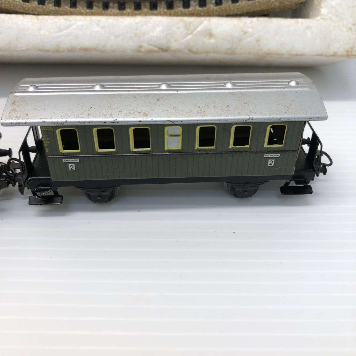 Marklin メルクリン 鉄道模型 SET-HO S 2929 ポイントレール 基本セット ドイツ製 1円スタート 動作未確認 ジャンク扱い_画像6