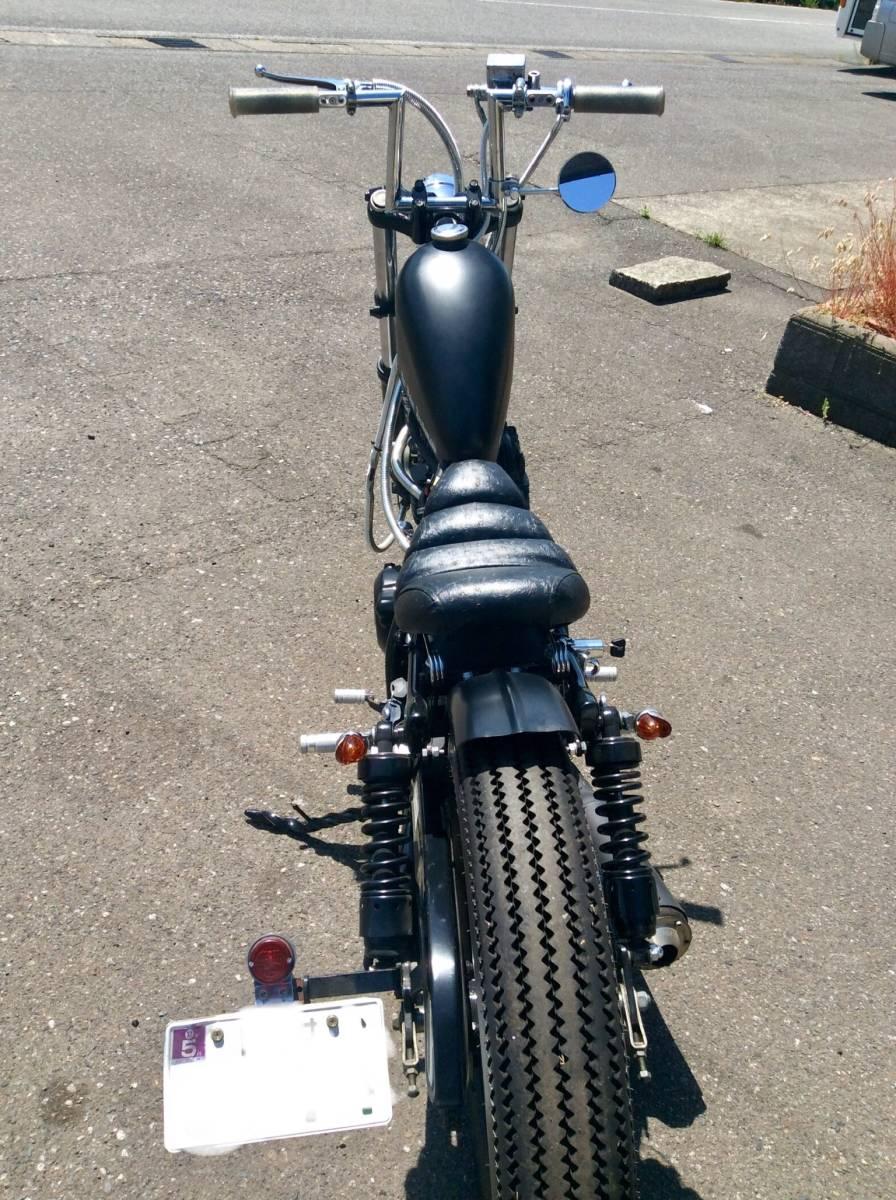 グラストラッカー250 フルカスタム ボバー チョッパー ボルティ SR TW_画像4