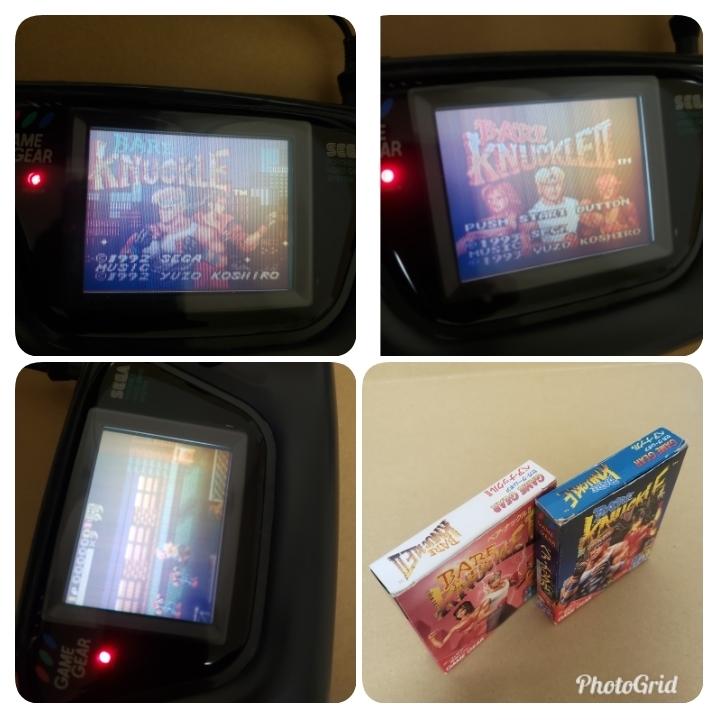 GG ゲームギア ベアナックル ベア・ナックル2 BARE KNUCKLE 箱、説明書付き 動作確認済み_画像10