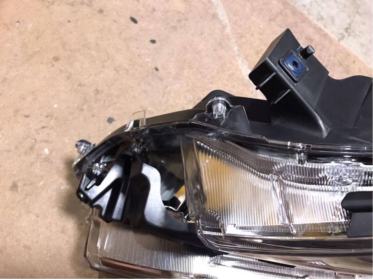 即決 極美品 現行 ヴェルファイア 30系 後期 左ヘッドライト 2眼 LED 左ライト ICHIKOH 58-94 ム 81150-58570 / 81185-58570 破損無し_画像4