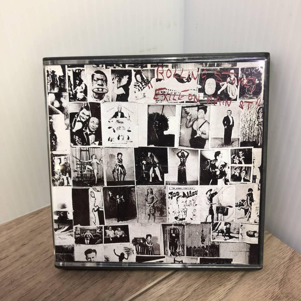 中古◇ 廃盤 MD The Rolling Stones ローリング・ストーンズ 「EXILE ON MAIN ST.」 レア Mini Disc ◇クリックポスト