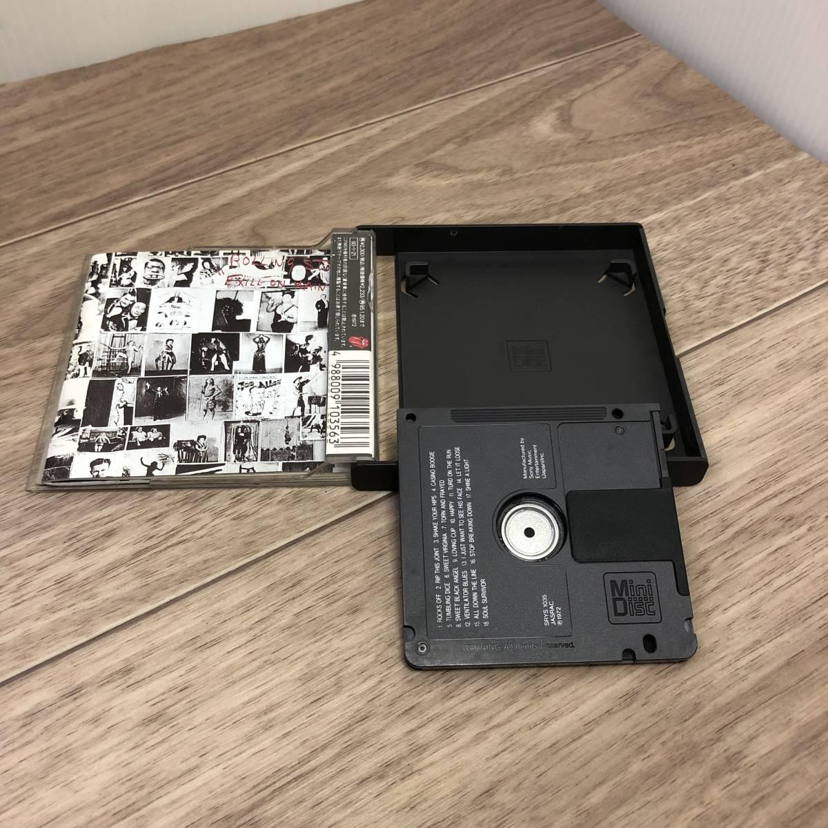 中古◇ 廃盤 MD The Rolling Stones ローリング・ストーンズ 「EXILE ON MAIN ST.」 レア Mini Disc ◇クリックポスト _画像5