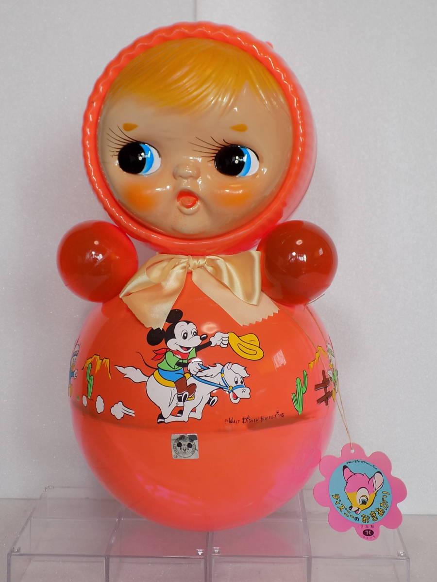なつかしの玩具 当時物 「ディズニー おきあがり」(箱付き・クスハラ)_画像3