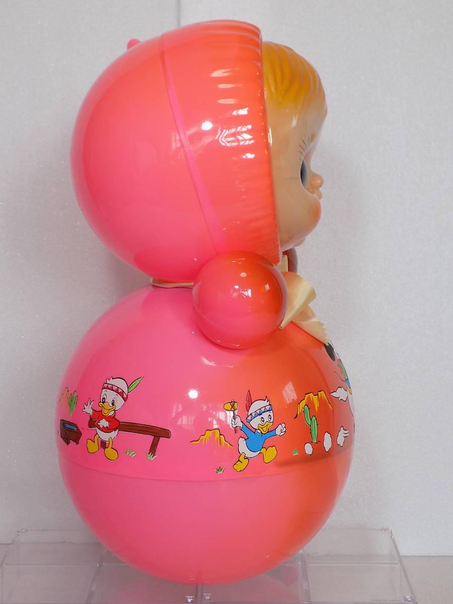 なつかしの玩具 当時物 「ディズニー おきあがり」(箱付き・クスハラ)_画像4