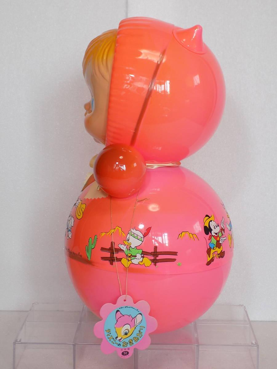 なつかしの玩具 当時物 「ディズニー おきあがり」(箱付き・クスハラ)_画像5
