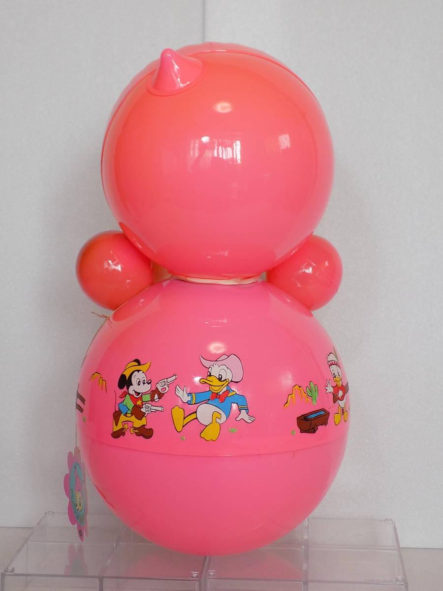 なつかしの玩具 当時物 「ディズニー おきあがり」(箱付き・クスハラ)_画像6