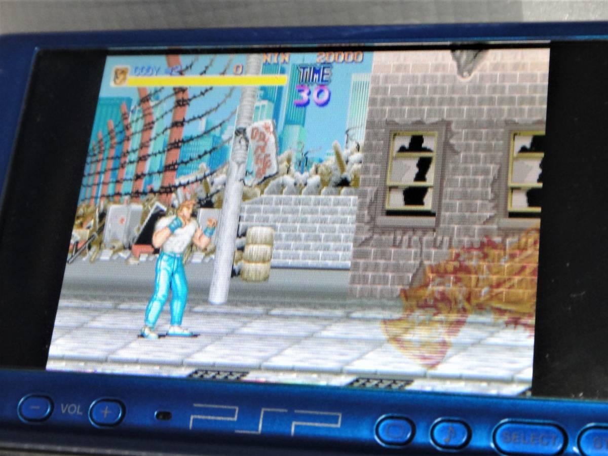 PSPソフト、画像はカプコンクラシック