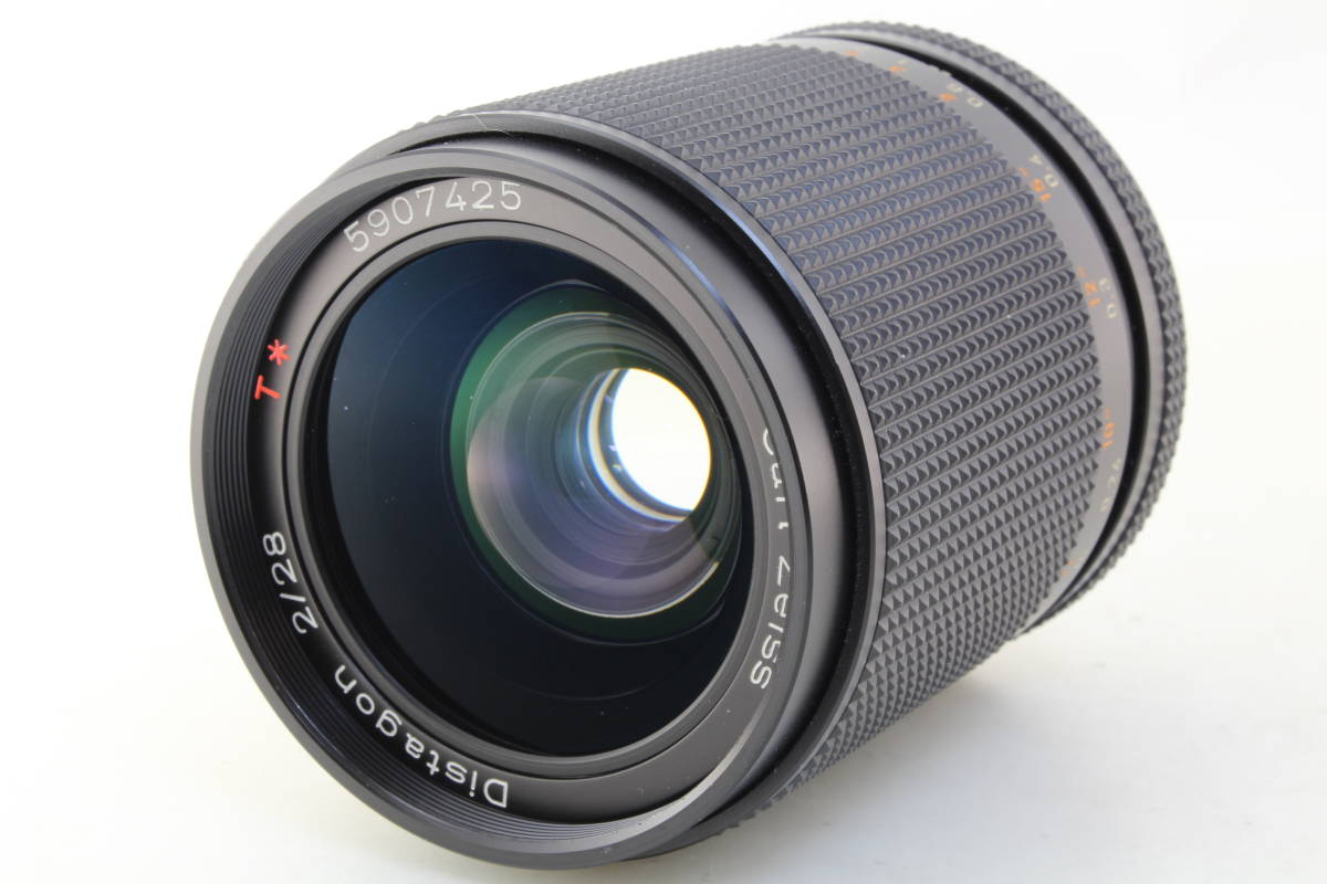AB+ (良品) CONTAX コンタックス Carl Zeiss Distagon 28mm F2 T* AEG 初期不良返品対応_画像5