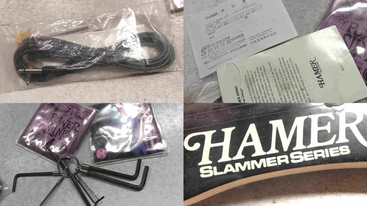〇ヘイマー/HAMER/SLAMMER SERIES/ギター〇_画像10
