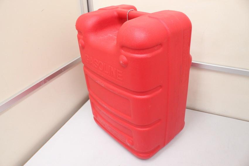 YAMAHA yamaha ヤマハ船外機用 ポータブル プラスチック 樹脂製 燃料タンク 約24L 中古品_画像2
