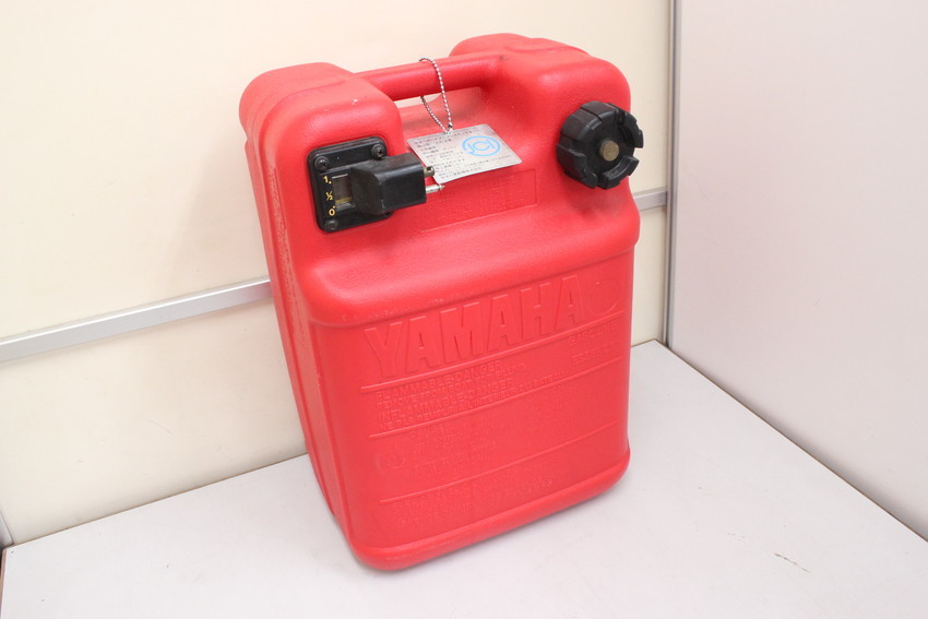 YAMAHA yamaha ヤマハ船外機用 ポータブル プラスチック 樹脂製 燃料タンク 約24L 中古品