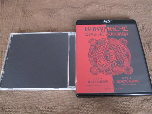 Blu-ray+CD BABYMETAL LIVE AT BUDOKAN BUDO-CAN THE ONE LIMITED BOX_画像3