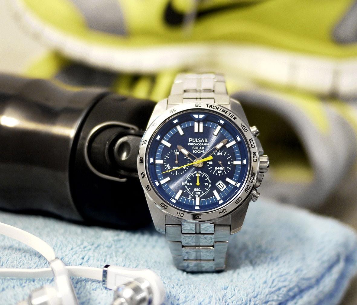 【ソーラー】セイコーPULSAR世界ラリー選手権WRCモデル逆輸入100m防水クロノグラフ腕時計メンズ新品未使用PZ5001X1激レア日本未発売