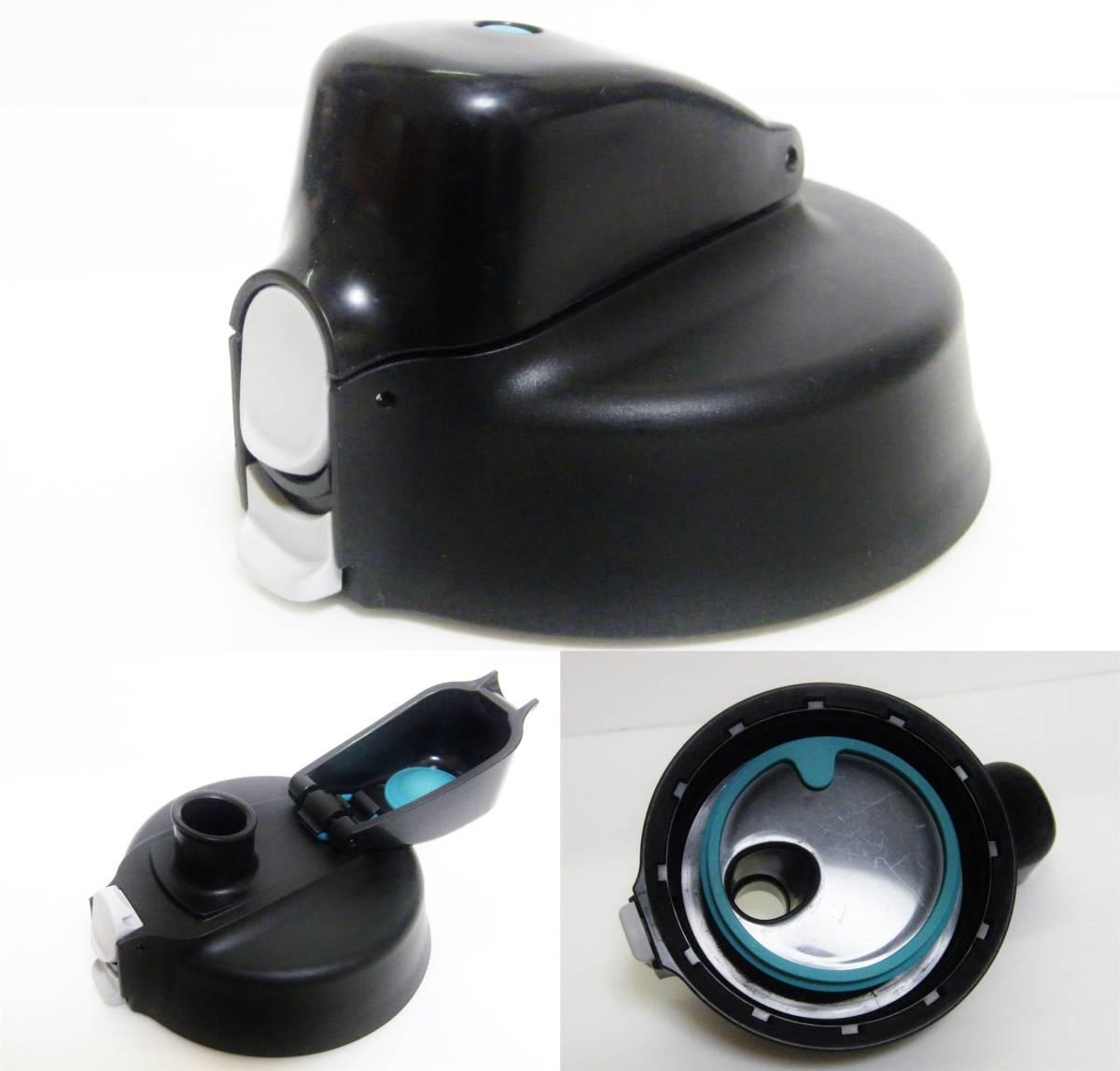 サーモス 真空断熱スポーツジャグ 2000ml ワンタッチオープン/ 持ちやすいハンドル付 保冷専用水筒 THERMOS FFO-2000-PL 2.0L パープル美品_画像7