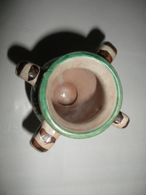 スペイン  Domingo punter( ドミンゴ パンター)ミニ壷 ツボ アンティーク コレクション レトロ インテリア 雑貨 陶器 西洋陶器_画像5