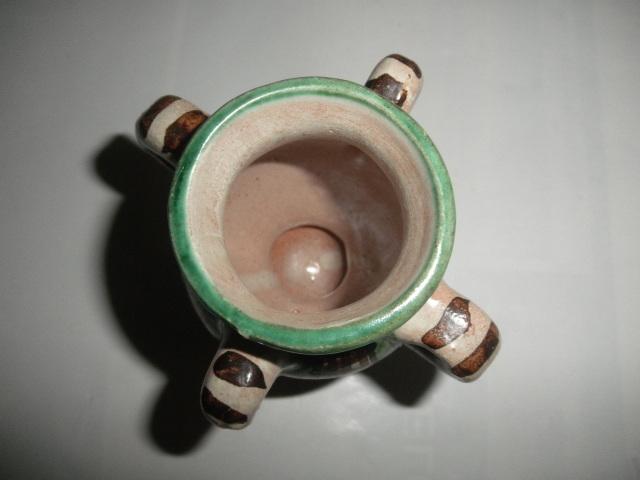 スペイン  Domingo punter( ドミンゴ パンター)ミニ壷 ツボ アンティーク コレクション レトロ インテリア 雑貨 陶器 西洋陶器_画像8