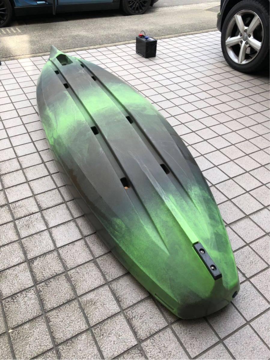 ペスカドールプロ10.0 名古屋より引取限定 パーセプション サウンド ターポン シットオン シットイン バス釣り ブラックバス_画像4