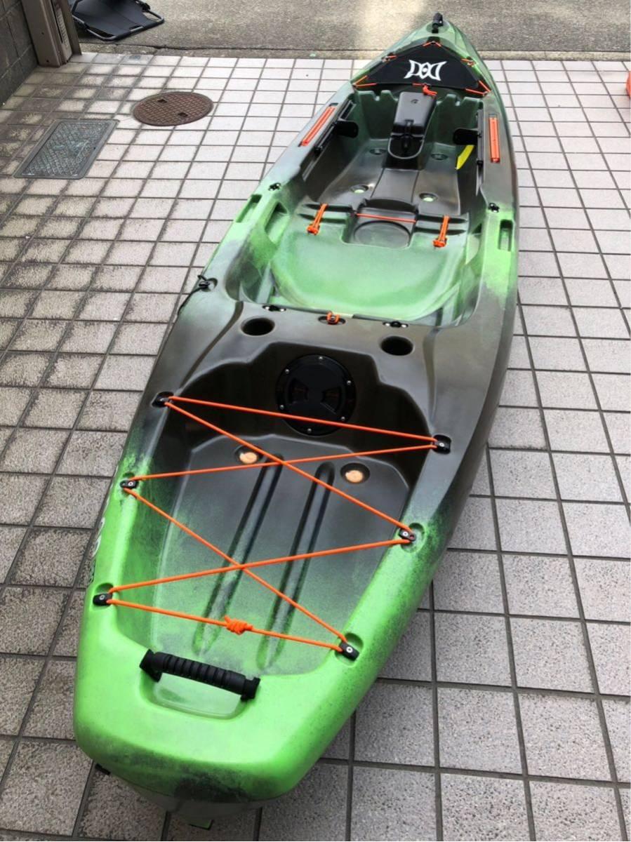 ペスカドールプロ10.0 名古屋より引取限定 パーセプション サウンド ターポン シットオン シットイン バス釣り ブラックバス_画像5