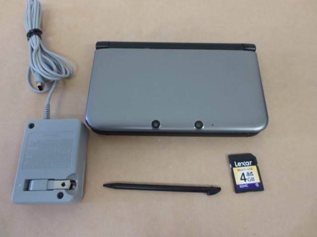 ★ニンテンドー3DS 本体、SDカード4GB、ACアダプター、タッチペンのセット ★検査済み 即使用可。_画像2