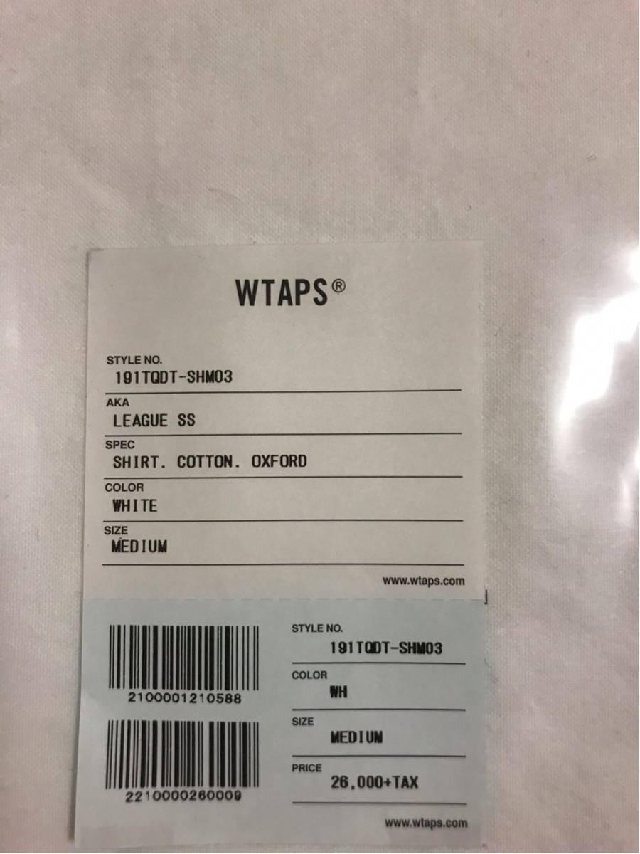 新品未使用1円スタート最落なし売り切り WTAPS LEAGUE SS jungle BUDS 19ss descendant GIP TET Tシャツ_画像3