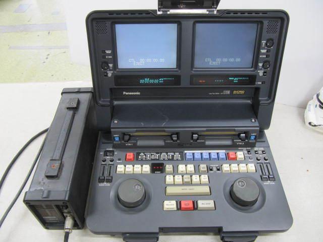 ジャンク Panasonic DVCPRO AJ-LT85 ラップトップエディター パナソニック