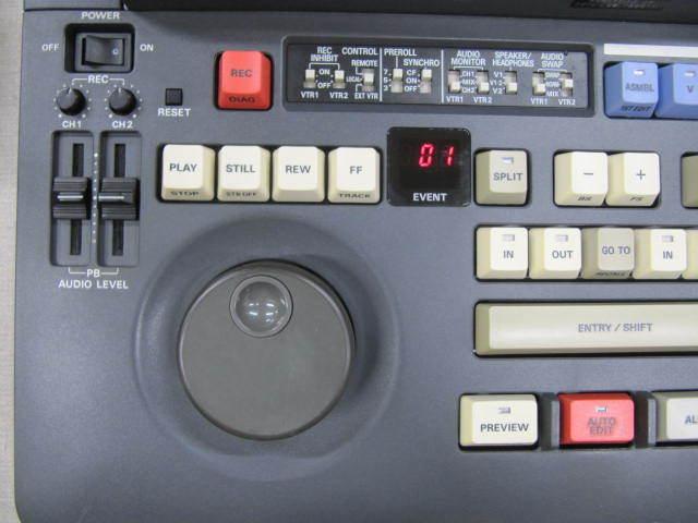 ジャンク Panasonic DVCPRO AJ-LT85 ラップトップエディター パナソニック_画像2